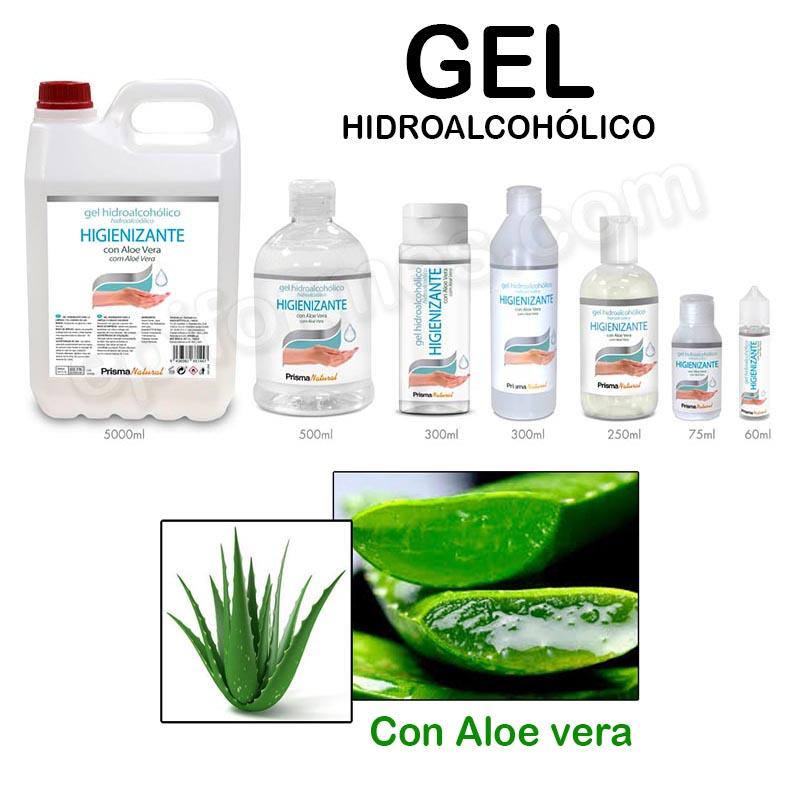 Gel hidroalcohólico (Olor agradable)