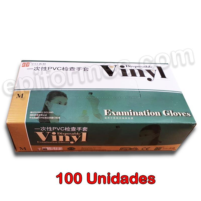 ULTIMA CAJA 100 guantes de vinilo