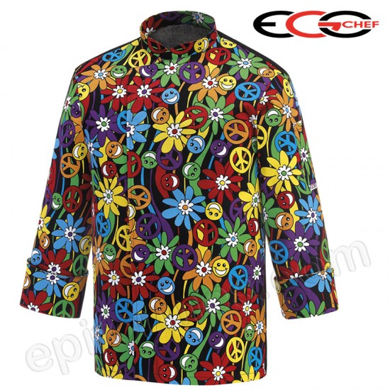 Chaqueta Cocinero peace and love