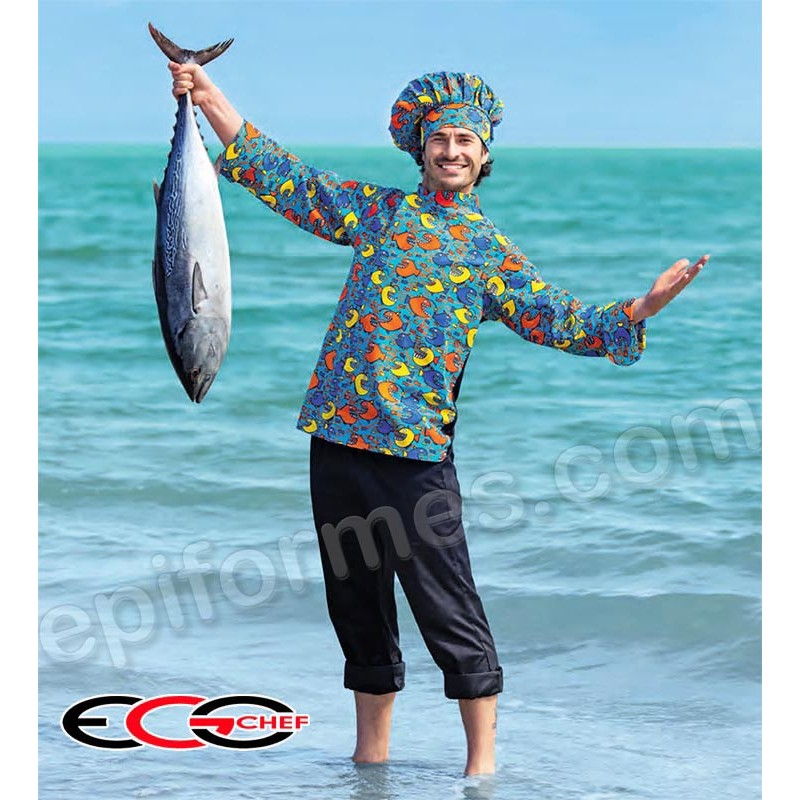 Gorro egochef peces