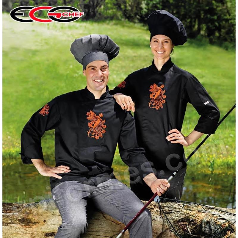 Chaqueta cocina carpa