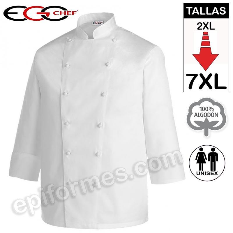 Chaqueta Cocina Talla Extra