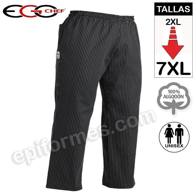 Pantalon talla especial hasta 7XL rayas