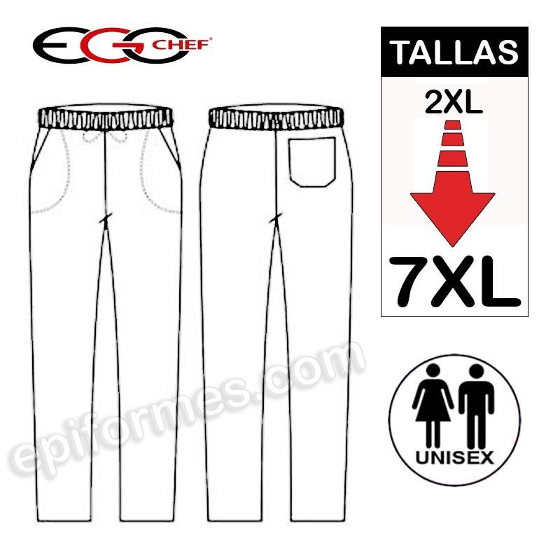 Pantalon talla especial hasta 7XL cuadros