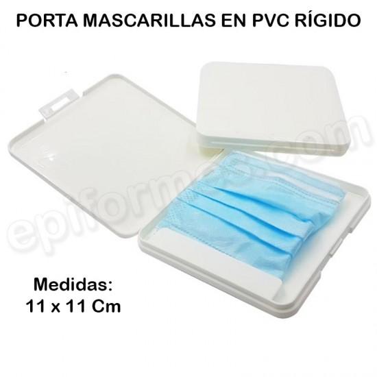 Caja de PVC rígido para masarillas