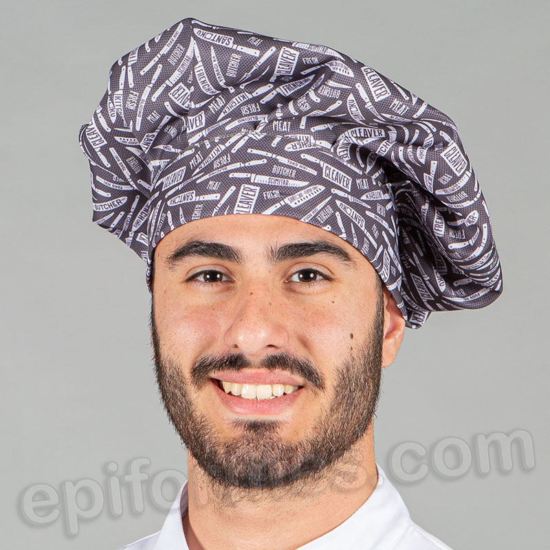 Gorro chef de cocina Cleaver