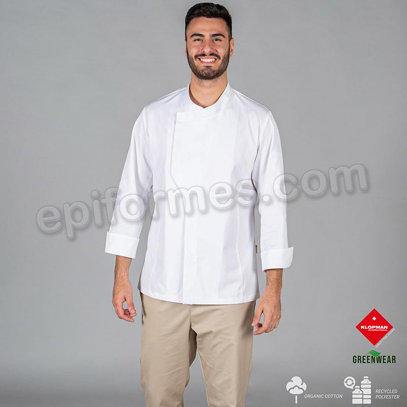 Chaqueta cocina unisex ecológica