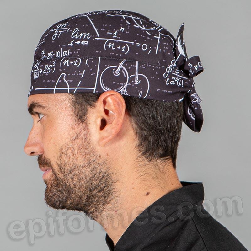 Bandana  cocinero estampada ecuación