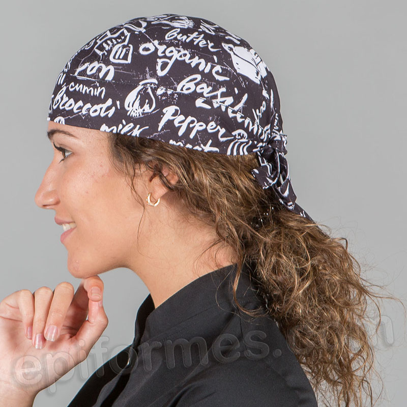 Bandana  cocinero estampada Kitchen