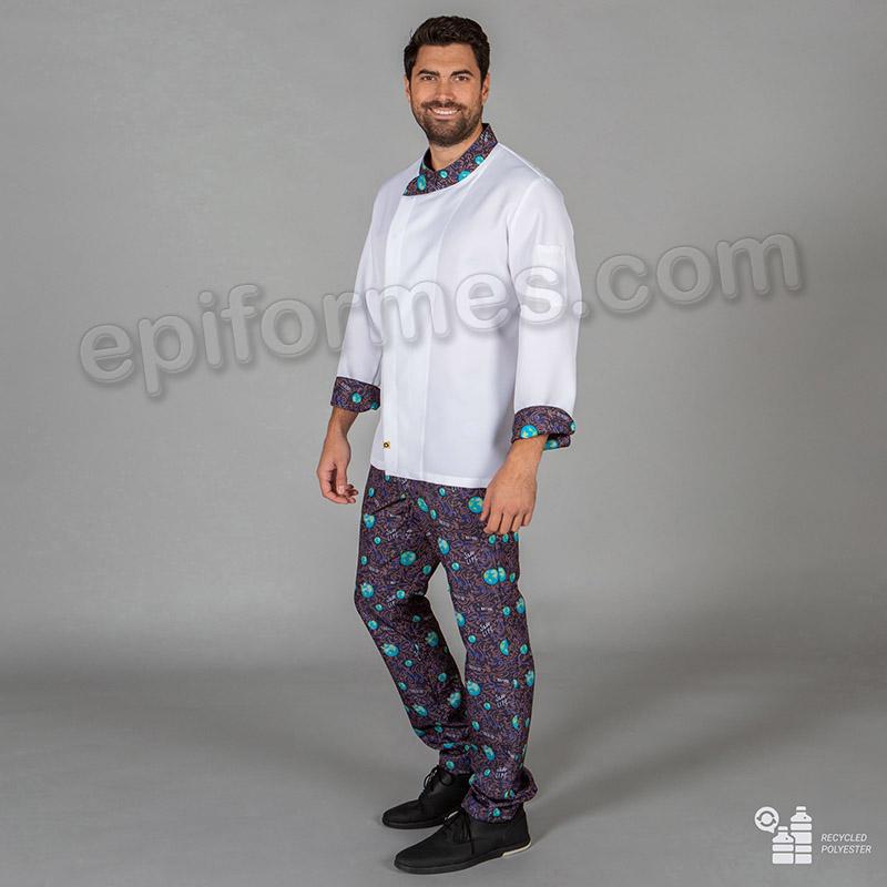 Pantalón Cocinero ecológico-reciclado