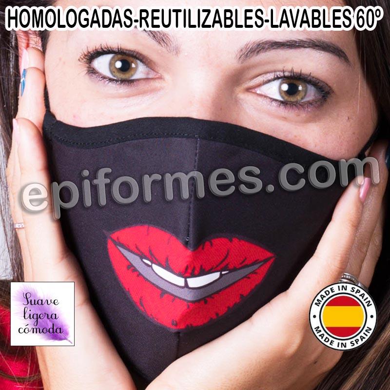 Mascarilla HOMOLOGADA boca