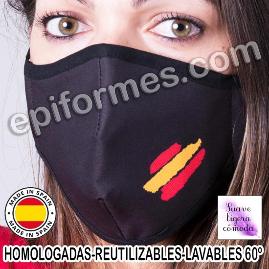 Mascarilla HOMOLOGADA  España