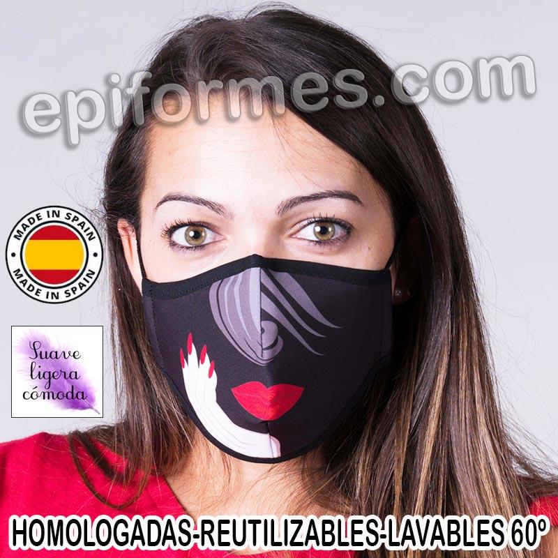 Mascarilla HOMOLOGADA  labio y uñas