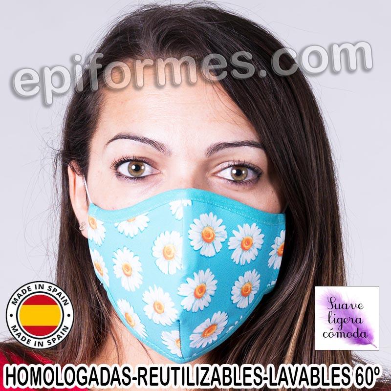 Mascarilla HOMOLOGADA  margaritas