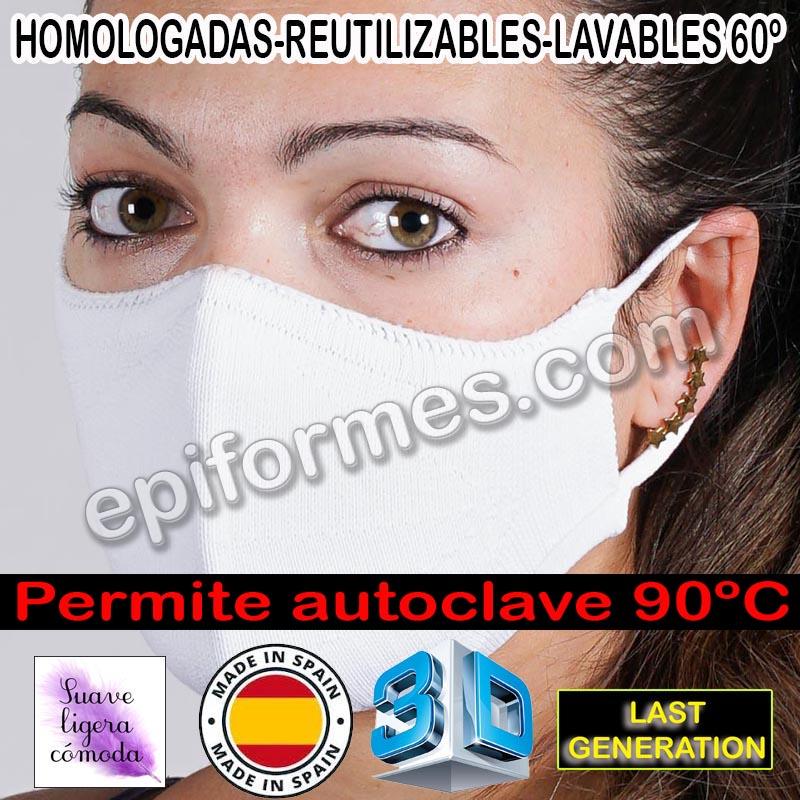 .Mascarilla 3D La más cómoda fácil respiración