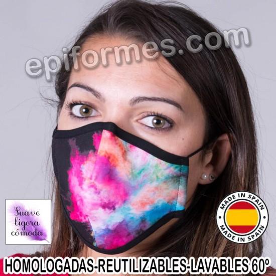 Mascarilla HOMOLOGADA  Humo