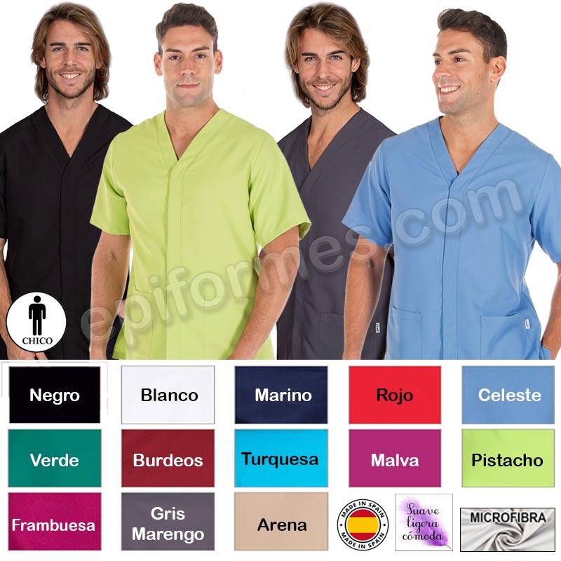 Chaquetilla microfibra hombre 13 colores