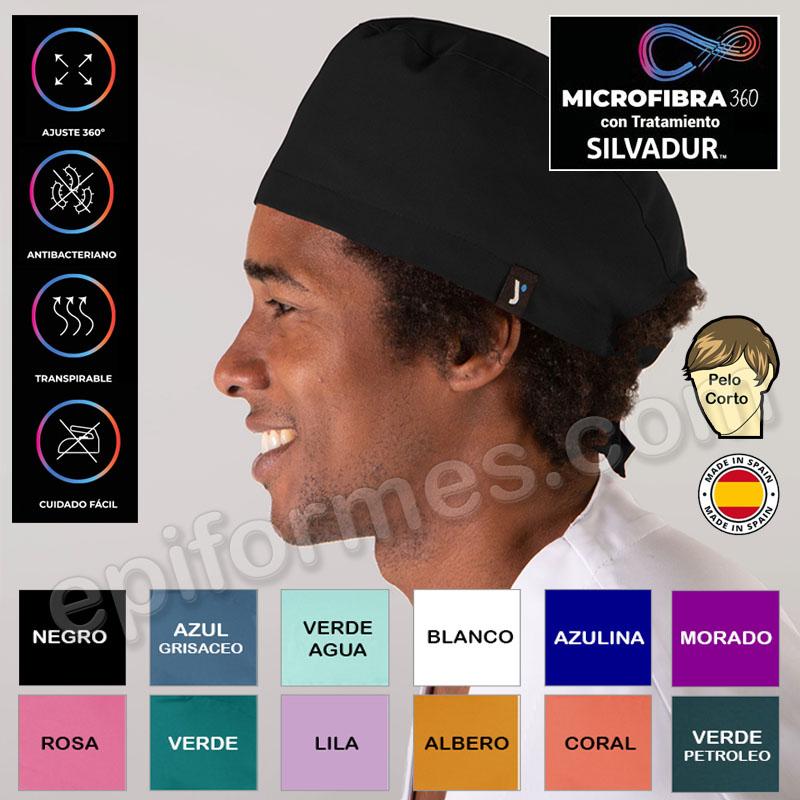 Gorro cirujano Microfibra elástica 12 Colores.
