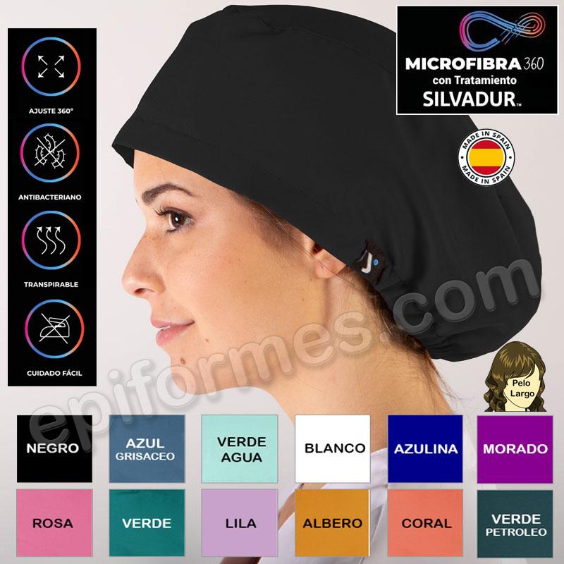 Gorro cirujano Microfibra elástica 12 Colores