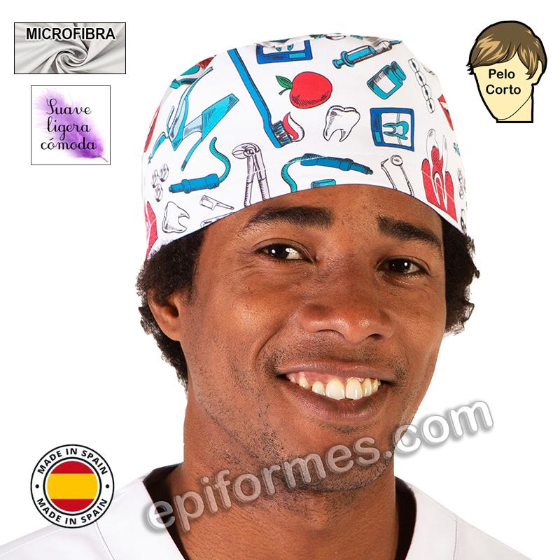 Gorro dentista, sonrisa