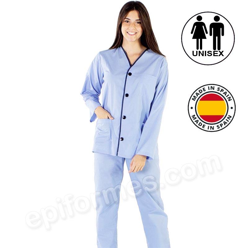 Pijama paciente adulto  hospital