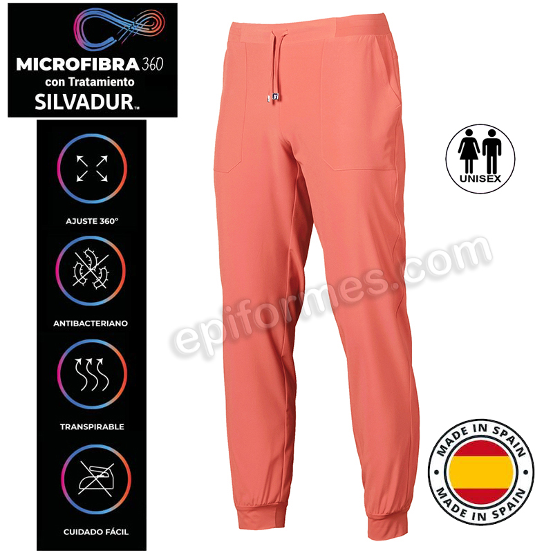 Pantalón sanidad Microfibra elástica 360