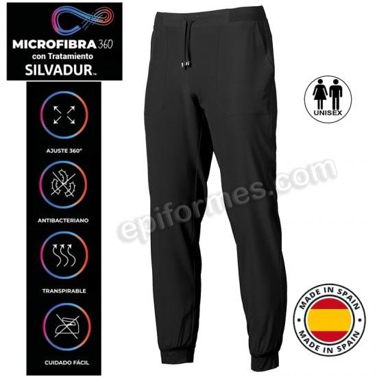 Pantalón sanidad Microfibra elástica 12 Colores