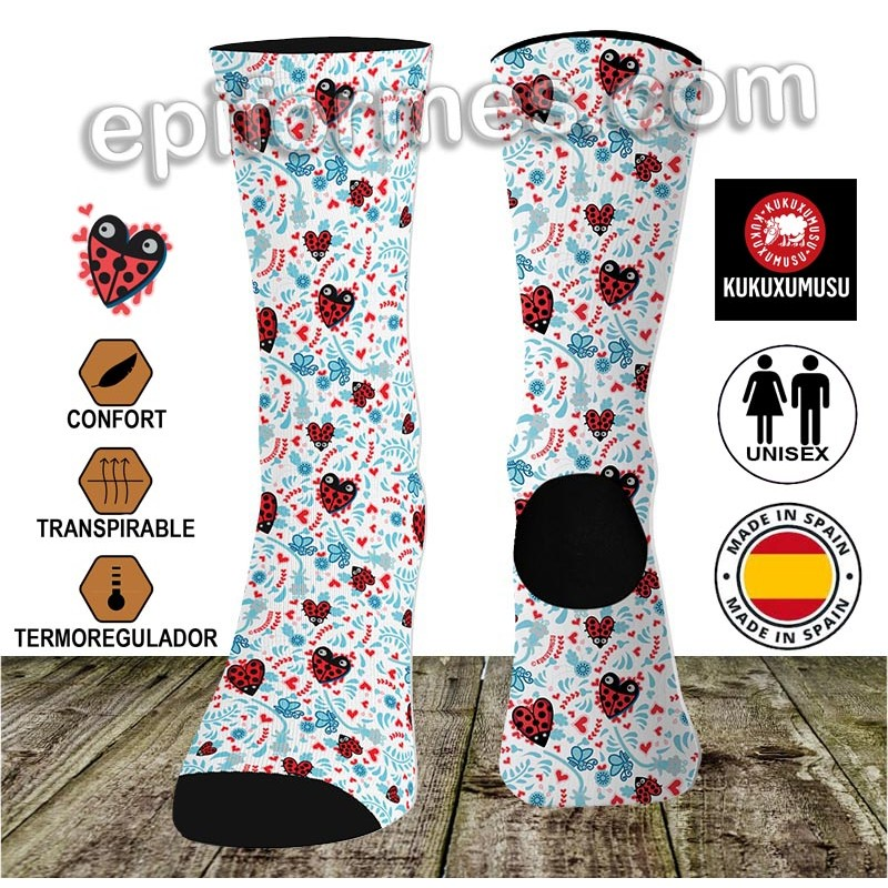 Calcetines de sanidad kukucorazones
