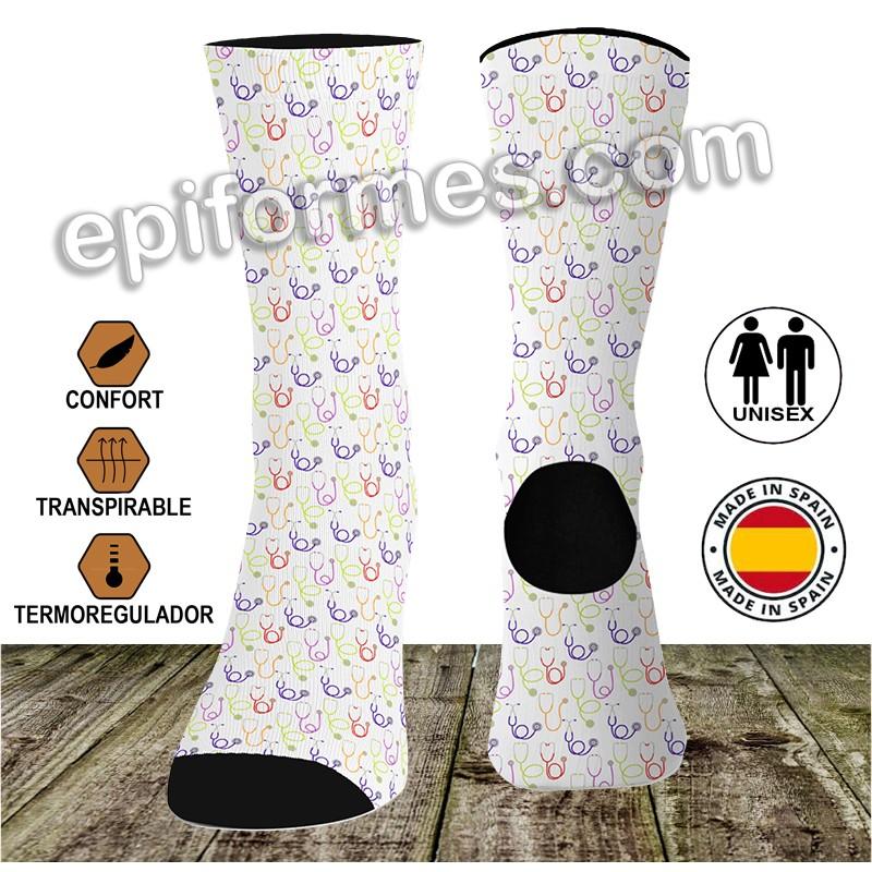 Calcetines de sanidad fonendoscopio