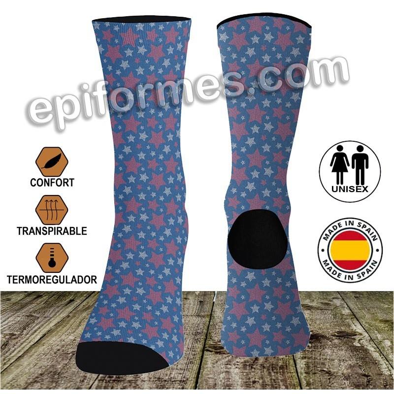 Calcetines de sanidad Estrellas