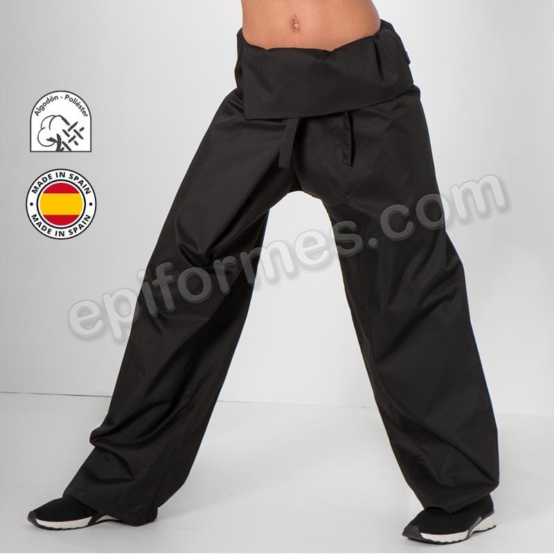 Pantalón Thai negro