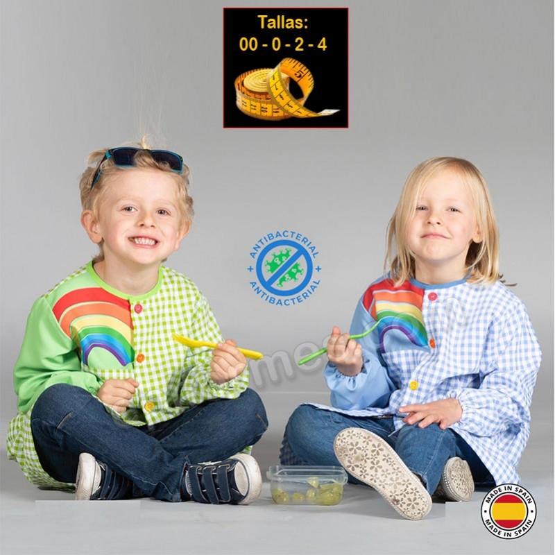 Babi infantil  antibacteriano, arcoíris