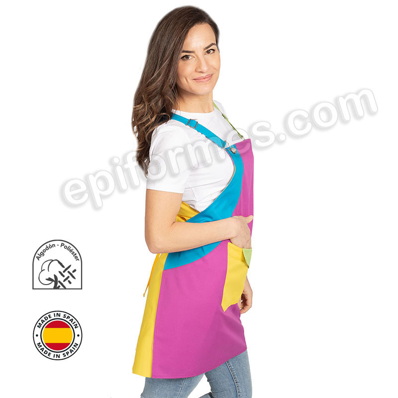 Casulla maestra multicolor