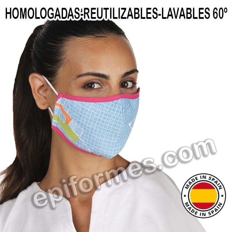 Mascarilla HOMOLOGADA lápices