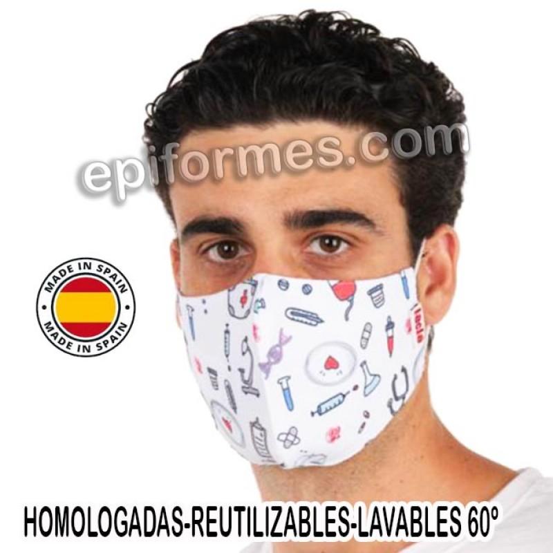 Mascarilla HOMOLOGADA médicos