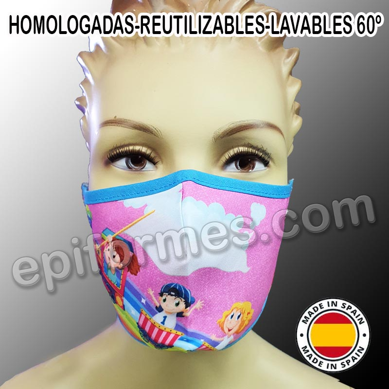 Mascarilla HOMOLOGADA wonderland