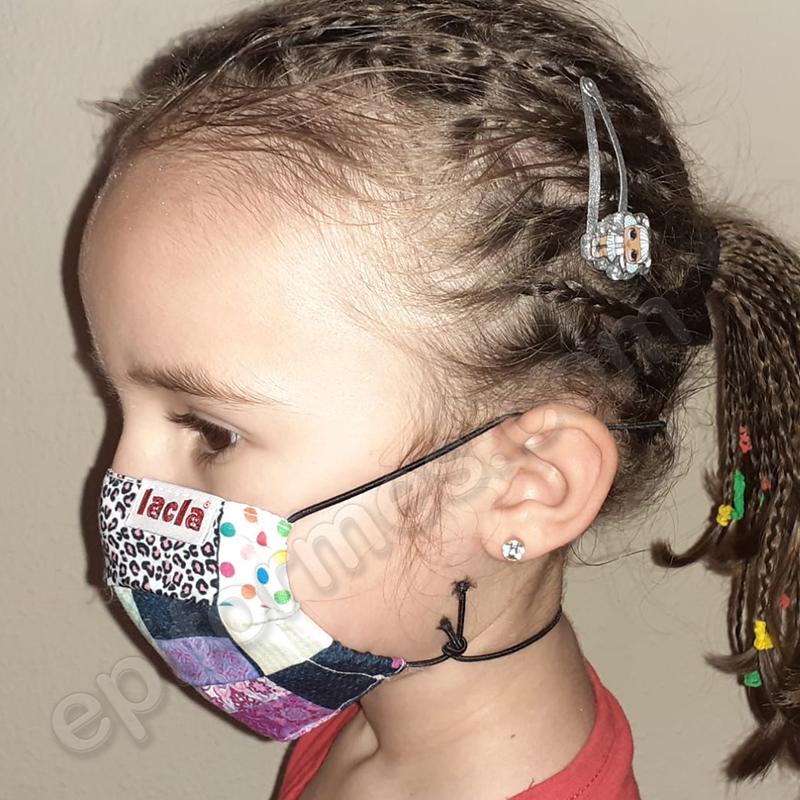 Mascarilla infantil Equivalente FFTP2 Patchwork