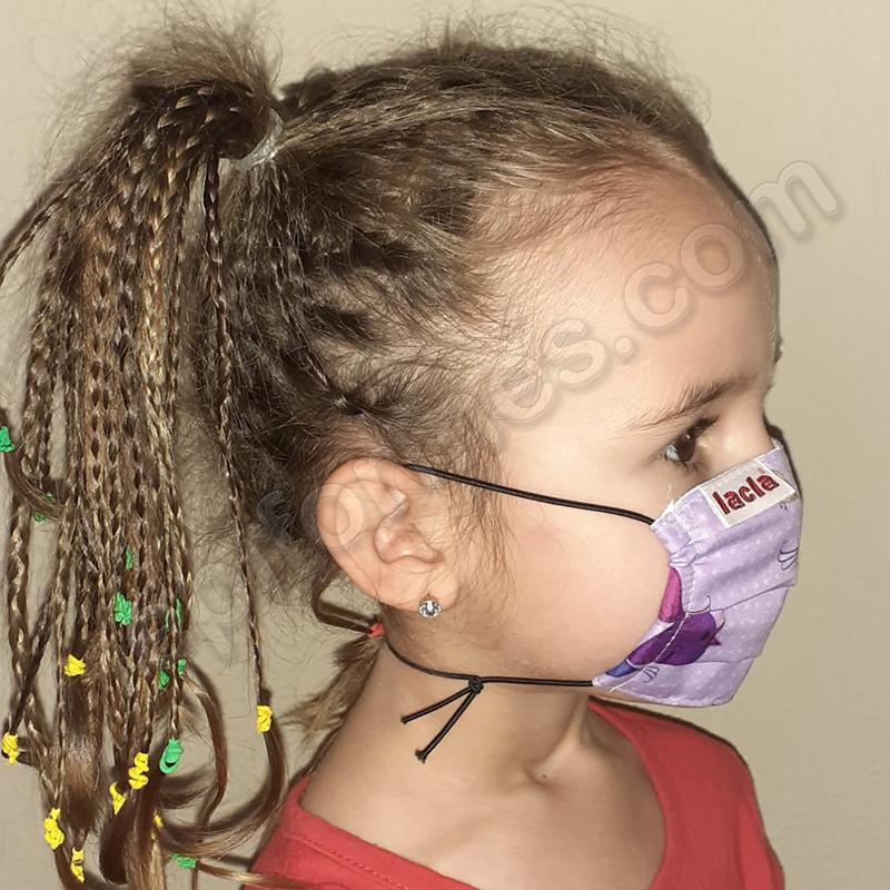 Mascarilla infantil Equivalente FFTP2 Pajaritos
