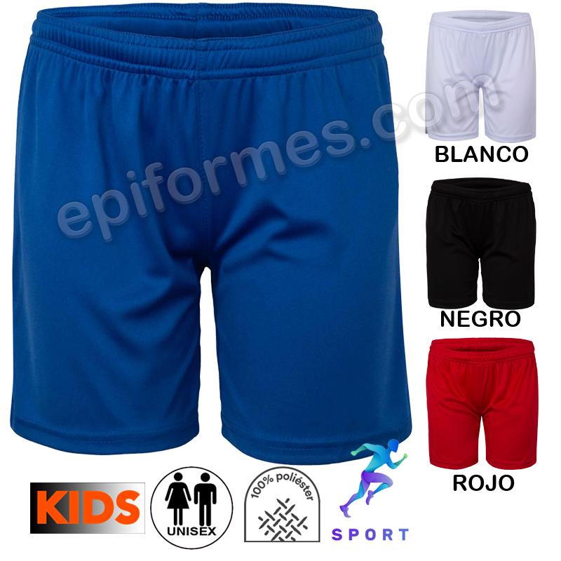 Pantalón corto infantil deporte