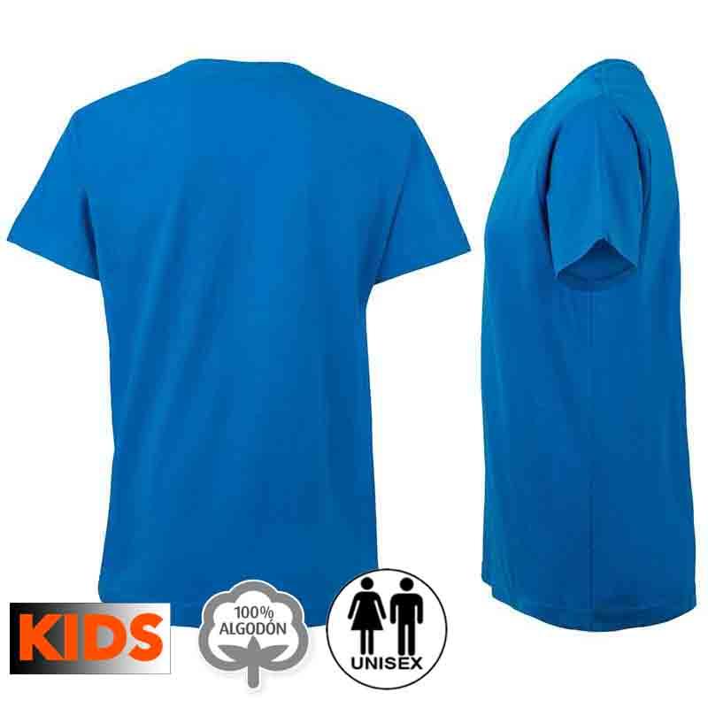 Camiseta algodón niño 15 colores