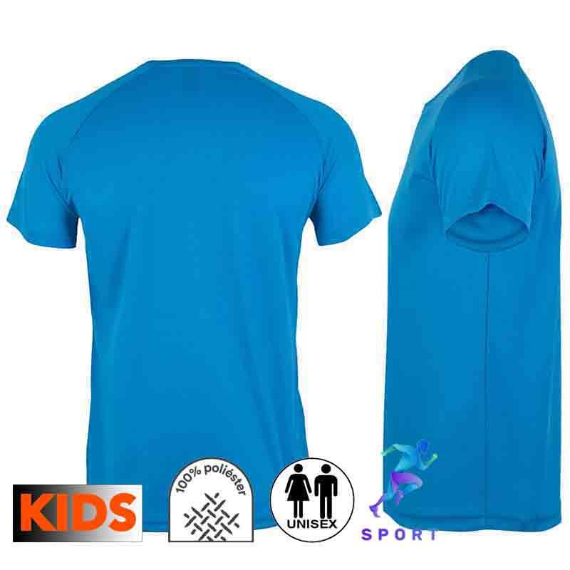 Camiseta técnica infantil 8 colores