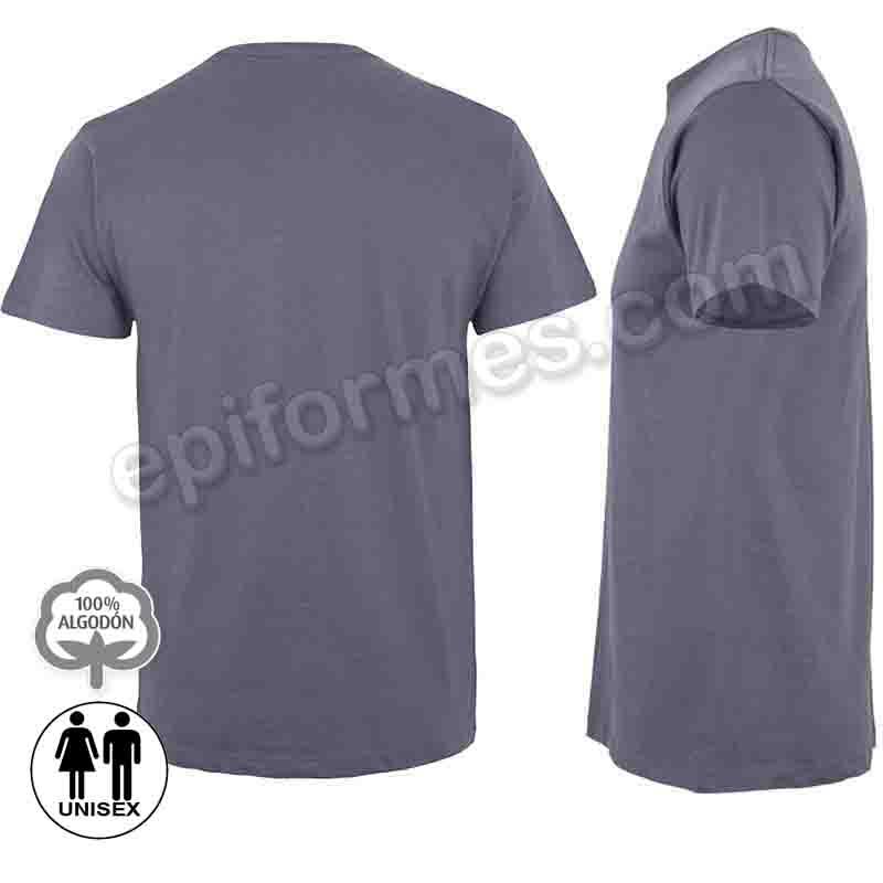 Camiseta manga corta unisex 21 colores