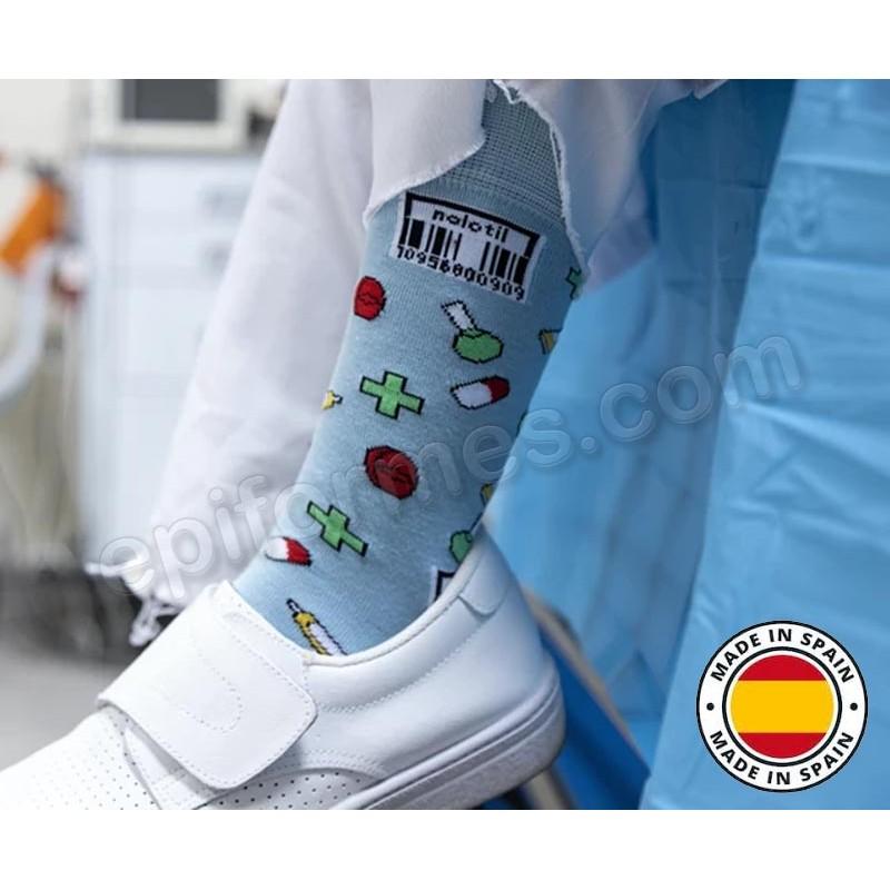Calcetines de sanidad estampados farmacia