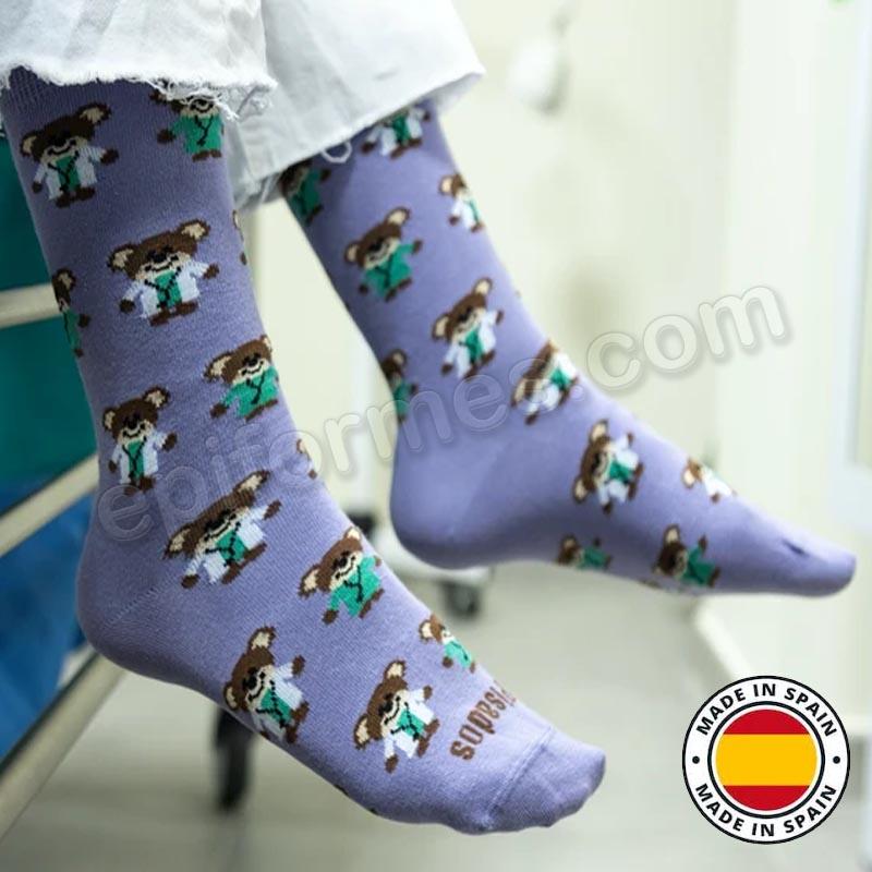 Calcetines de sanidad estampados Ositos sanitarios