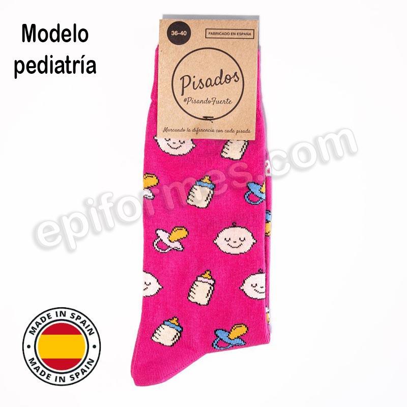 Calcetines de sanidad estampados pediatría