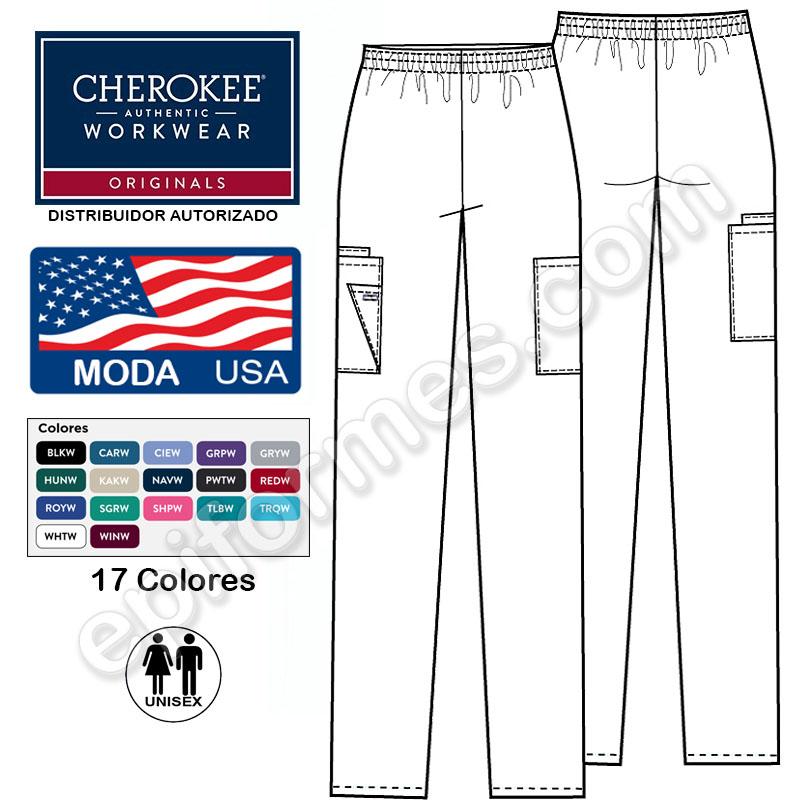 Pantalón sanitario unisex clásico 17 colores
