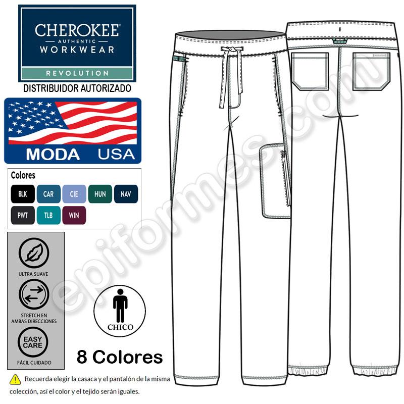 Pantalón unisex estilo jogger 8 colores