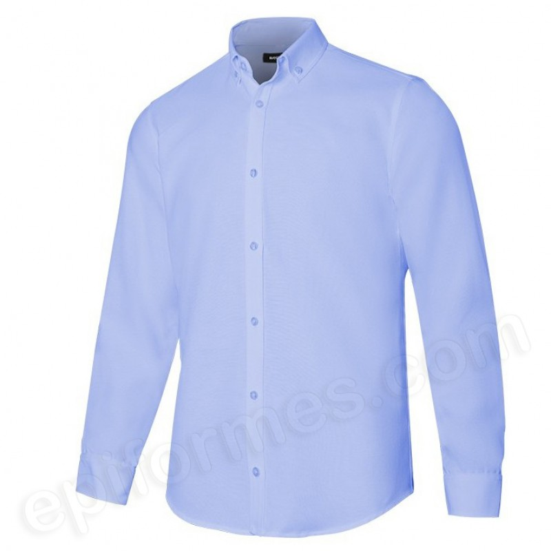 Camisa oxford stretch  hombre