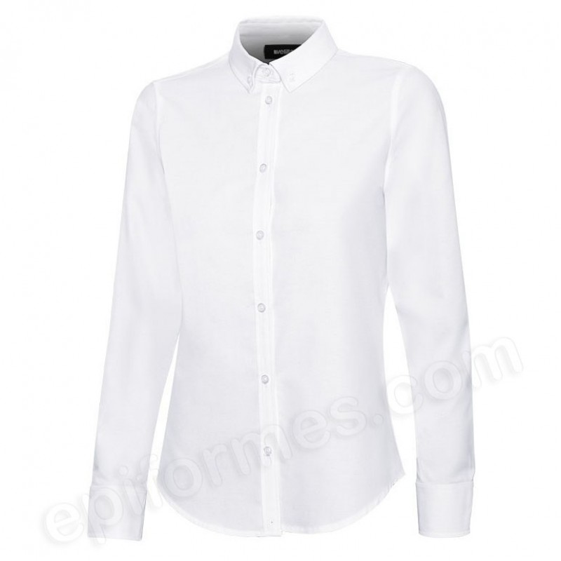 Camisa oxford stretch mujer