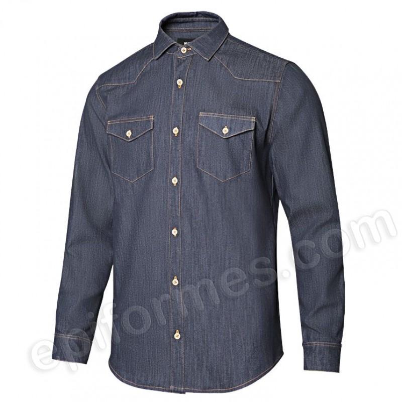 Camisa vaquera strech hombre